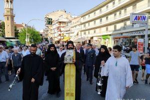 Η ευλογία του Αγίου Νικάνορος στην πόλη των Γρεβενών
