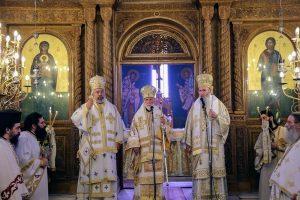 Η εορτή της Αγίας Παρασκευής στην Ναύπακτο – Αρχιερατικό Συλλείτουργο