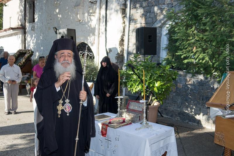 """Φθιώτιδος Νικόλαος : """"Το παν είναι να ζητάμε από τον Θεό με πίστη"""""""