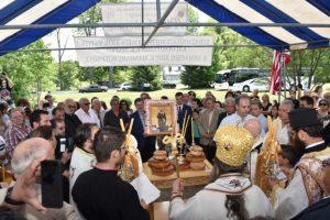 Ομογενείς από τη Χίο τίμησαν την Αγ. Μαρκέλλα στη Νέα Υόρκη παρουσία του Σεβ. Χίου Μάρκου