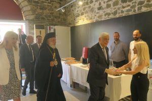 Τον Πρόεδρο της Δημοκρατίας υποδέχθηκε η Σύρος για το Ε ´ Θερινό Πανεπιστήμιο