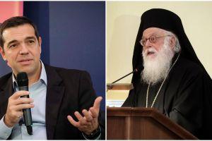 Με τον αρχιεπίσκοπο Αλβανίας συναντήθηκε ο Αλ. Τσίπρας – Τι συζήτησαν