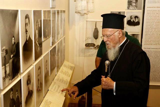 Επίσκεψη του Οικ. Πατριάρχη στις Σαράντα Εκκλησιές