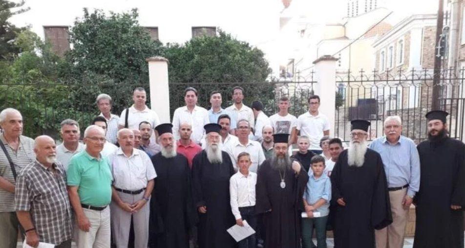 Στην εορτή λήξεως της Σχολής Βυζαντινής Μουσικής ο Σεβ. Χίου Μάρκος