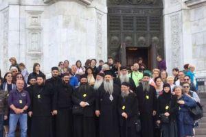Ο Σταγών και Μετεώρων Θεόκλητος στη Ρωσία