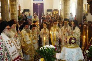 Συνοδική Θεία Λειτουργία και Μνημόσυνο για τον αοίδιμο Κρήτης Βασίλειο Μαρκάκη