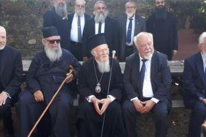 Στο Αγίασμα της Παναγίας Λαοδηγήτριας ο Οικουμενικός Πατριάρχης Βαρθολομαίος