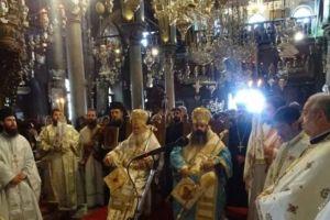Ιεραποδημία της Μητρόπολης Κορίνθου στην Ιερά Νήσο Τήνο
