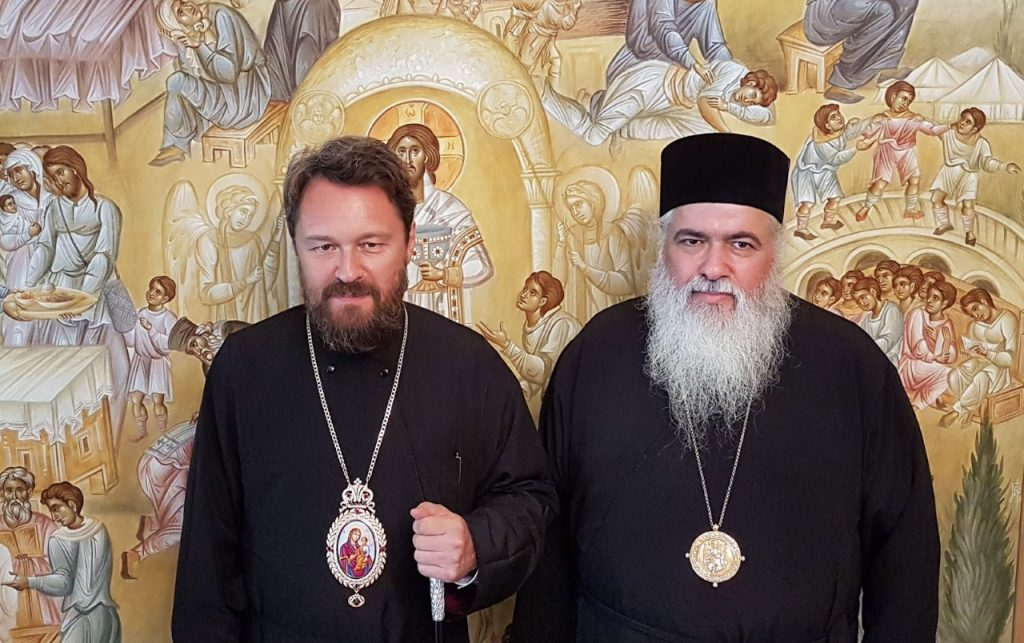 Ο Ιλαρίων αναζητά… σωσίβιο στη Μητέρα Εκκλησία Κωνσταντινουπόλεως;