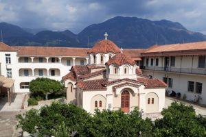 Ενθρόνιση νέας Καθηγουμένης  στην Ι. Μονή Αγ. Κων/νου και Ελένης Καλαμάτας