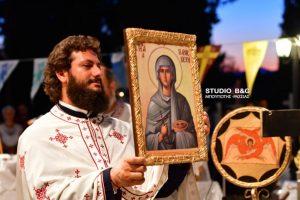 Η εορτή της Αγίας Παρασκευής στα Πυργιώτικα Ναυπλίου