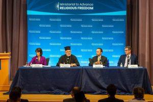 Για τις θρησκευτικές μειονότητες μίλησε ο Αρχιεπίσκοπος Αμερικής Ελπιδοφόρος στην Ουάσινγκτον