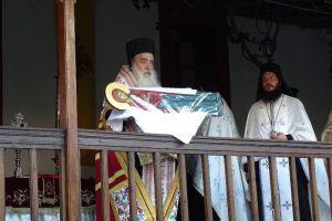 Στην ιστορική παλαίφατη μονή της Μεγάλης Παναγίας στη Σάμο