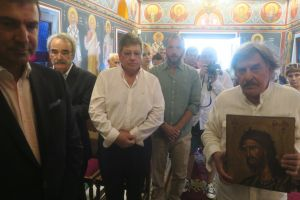 Του Αγίου Ιωάννου, ο Σύρου Δωρόθεος στο χωριό των Ναυτικών και των Καπεταναίων στην Άνδρο