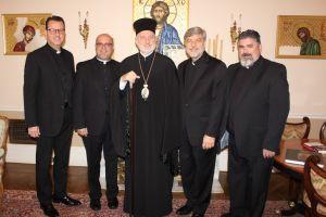 Συνάντηση Αμερικής Ελπιδοφόρου με το Σύνδεσμο Ιερέων της Ιεράς Αρχιεπισκοπής