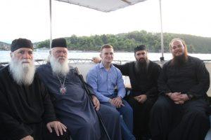 Ο Αρχιεπίσκοπος Αθηνών Ιερώνυμος στα Τριζόνια Φωκίδος
