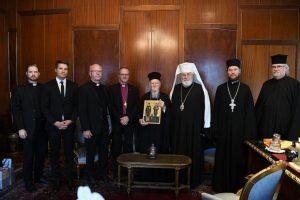 Ο Αρχιεπίσκοπος της Ορθοδόξου Αυτονόμου Εκκλησίας της Φιλλανδίας και ο Λουθηρανός Αρχιεπίσκοπος Φιλλανδίας στο Οικουμενικό Πατριαρχείο