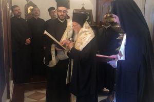 Επίσκεψη Οικουμενικού Πατριάρχη Βαρθολομαίου στον νέο Δήμαρχο Σηλυβρίας