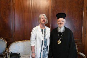 Η Πρέσβης της Νέας Ζηλανδίας στην Άγκυρα στο Οικουμενικό Πατριαρχείο