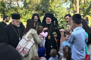 Ο Αρχιεπίσκοπος Αμερικής στη Θεολογική Σχολή του Τιμίου Σταυρού της Βοστώνης