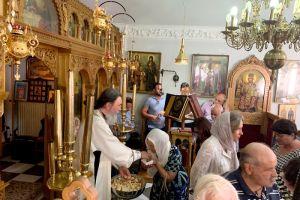 Η εορτή της Αγίας Μαρκέλλας στο νησί της Χίου από τον Σεβ. Αττικής και Βοιωτίας Χρυσόστομο