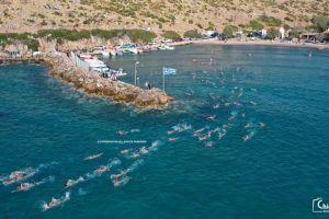 Oι κολυμβητές – προσκυνητές του Αγίου Στεφάνου Ελάτας στη Χίο