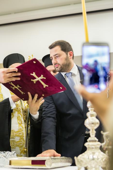 Η ορκωμοσία του νέου Περιφερειάρχη Στερεάς Ελλάδος