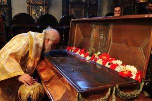 Το Ιερό Λείψανο της Αγίας Σολομονής στον Πατριαρχικό Ναό