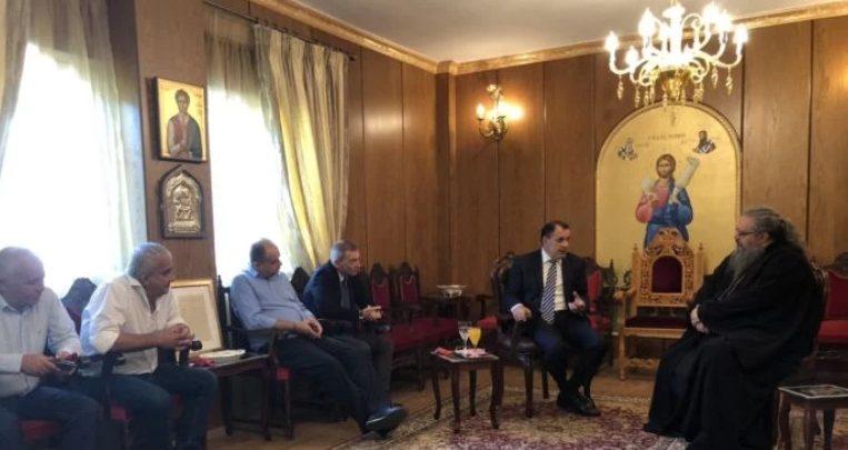 Στον Λαρίσης Ιερώνυμο ο νέος υπουργός Εθνικής Αμυνας