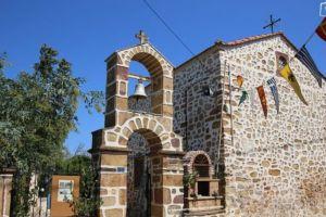 Η μοναδική εκκλησία αφιερωμένη στον Άγιο Διομήδη ευρίσκεται στη Χίο