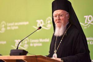 """Οικουμενικός Πατριάρχης: """"Η μέριμνα για το φυσικό περιβάλλον αποτελεί ουσιαστική έκφραση της εκκλησιαστικής ζωής"""""""