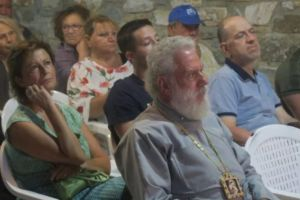 Ο Σύρου Δωρόθεος σε εκδήλωση στην Ερμούπολη