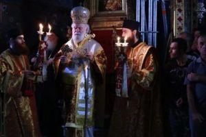 Το Αγιον Ορος εορτάζει σήμερα την Κοίμηση της Θεοτόκου – Η Μονή Βατοπαιδίου εόρτασε Αρχιερατικώς