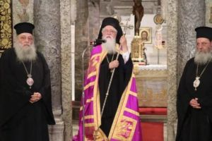 Τελευταία Παράκληση στην Παναγία Εκατονταπυλιανή της Πάρου