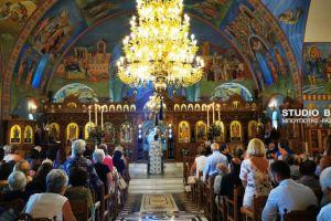 Αρχιερατική Θεία Λειτουργία στο Κιβέρι για την εορτή της Παναγίας