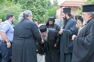 Μέγας Πανηγυρικός Αρχιερατικός Εσπερινός  στην Ιερά Μονή του Οσίου Αγάθωνος