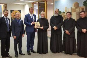 Ο Αρχηγός της Αξιωματκής Αντιπολίτευσης του Καναδά στον Αρχιεπίσκοπο Σωτήριο