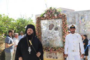 Η εορτή της Παναγίας Εκατονταπυλιανής  στην Πάρο