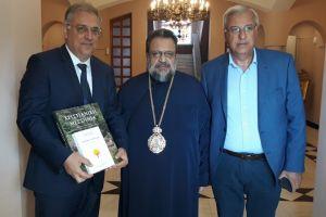 Ευχές με νόημα  του Μεσσηνίας Χρυσοστόμου στον υπουργό Εσωτερικών κ. Θεοδωρικάκο