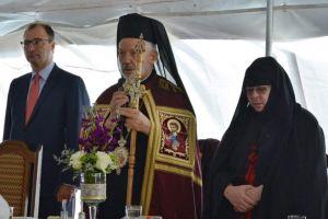 Η εορτή της Αποδόσεως στην Ιερά Μονή της Παναγίας Παρηγορήτισσας στο Quebec στον Καναδά