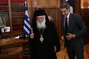 Μητσοτάκης –  Ιερώνυμος έθεσαν τις βάσεις της συνεργασίας Πολιτείας και Εκκλησίας για το μέλλον