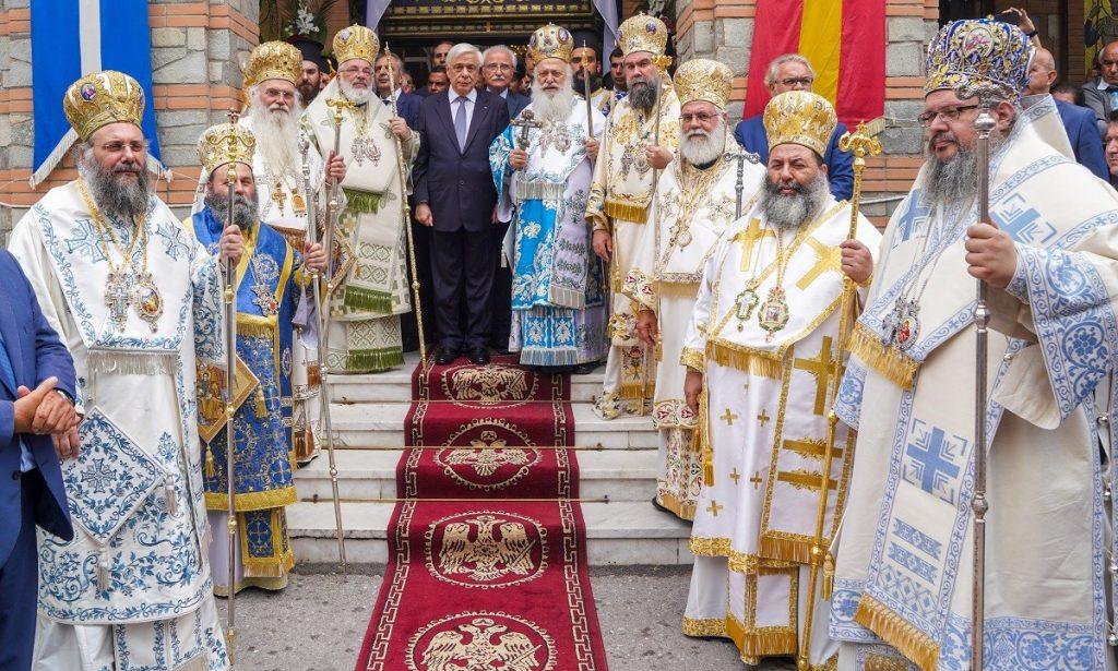 You are currently viewing Πανηγύρισε η Παναγία Σουμελά στο Βέρμιο παρουσία του Προέδρου της Ελληνικής Δημοκρατίας