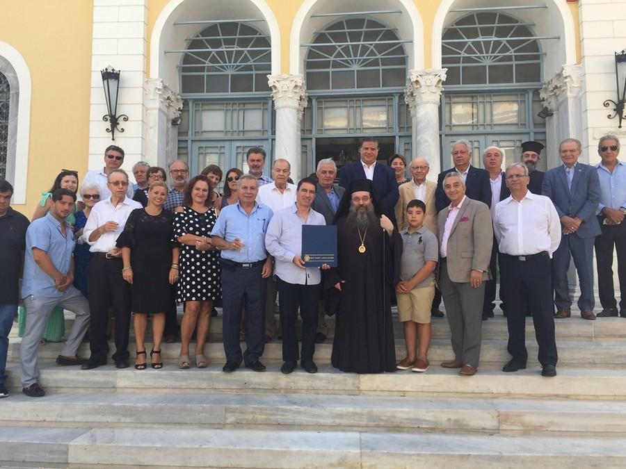 Αρχιερατικός εορτασμός της Hμέρας των Ομογενών στην Χίο