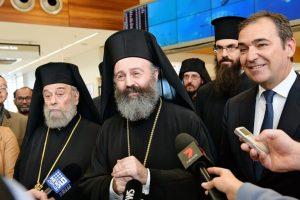 Ο Πρωθυπουργός της Πολιτείας της Ν. Αυστραλίας υποδέχθηκε τον Αρχιεπίσκοπο Αυστραλίας Μακάριο