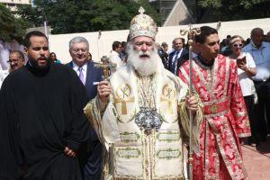 """Πατριάρχης Αλεξανδρείας: """"Όπου βρίσκεται ο Έλληνας μεγαλουργεί"""" – Τελέσθηκαν τα θυρανοίξια του Ι.Ν. Αγ. Κωνσταντίνου και Ελένης"""