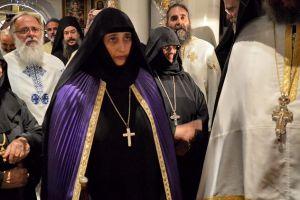 Έγινε η Ενθρόνιση της νέας Ηγουμένης Τιμοθέης στη Μονή Αγίου Νεκταρίου στην Αίγινα
