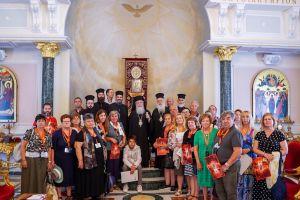Ο Μητροπολίτης Βεροίας στους Αγίους Τόπους επικεφαλής προσκυνητών