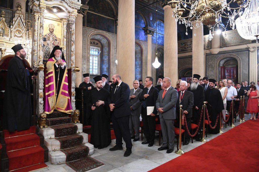 O Οικουμενικός Πατριάρχης τίμησε τον Ομοτ.Καθηγητή Χρήστο Γιανναρά με το Οφφίκιο του Άρχοντος Μεγάλου Ρήτορος της Αγίας του Χριστού Μεγάλης Εκκλησίας