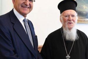 Ο Υφυπουργός Εξωτερικών της Ελλάδος στο Οικουμενικό Πατριαρχείο