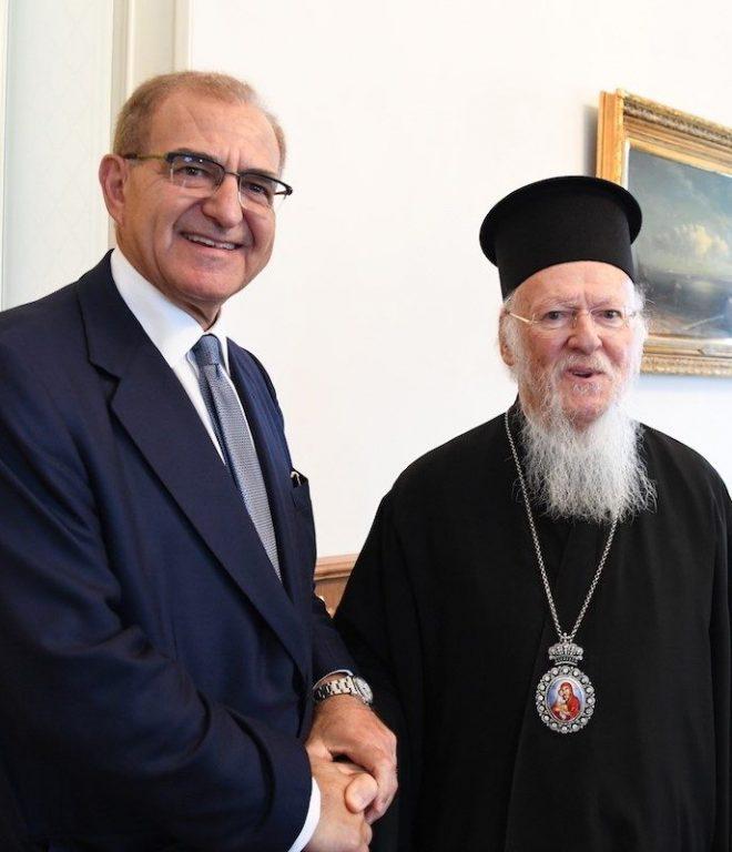 You are currently viewing Ο Υφυπουργός Εξωτερικών της Ελλάδος στο Οικουμενικό Πατριαρχείο